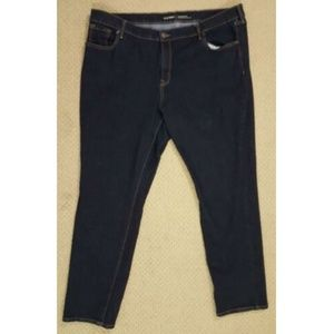 Old Navy Original Dark Wash Jeans 20 Mid Rise